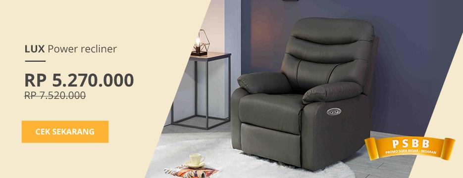LUX Recliner Sofa