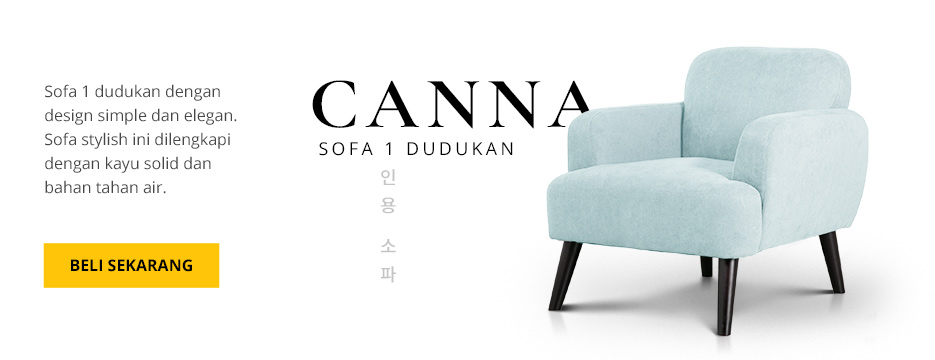 CANNA Sofa 1 Dudukan