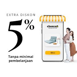 EXTRA DISCOUNT 5%