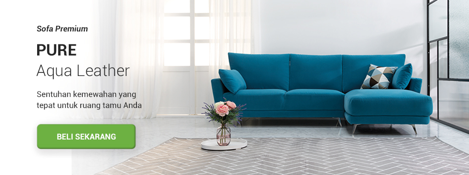 PURE Aqua Sofa 4 Dudukan