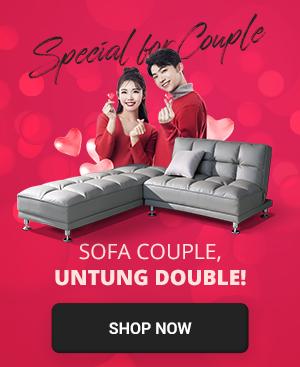 Sofa Couple, Untung Double!